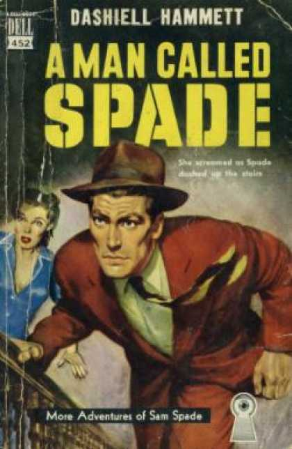 Dell Books - A Man Called Spade - Dashiell Hammett