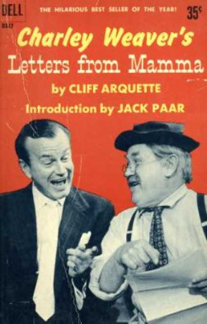 Dell Books - Charley Weavers Letters From Mamma - Cliff Arquette