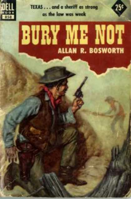 Dell Books - Bury Me Not - Allan R. Bosworth