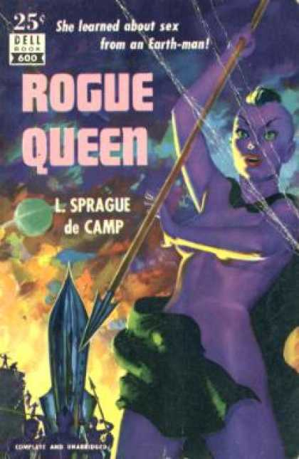 Dell Books - Rogue Queen - L. Sprague De Camp