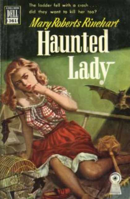 Dell Books - The Haunted Lady
