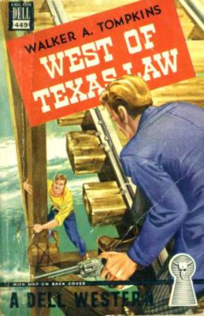 Dell Books - West of Texas Law