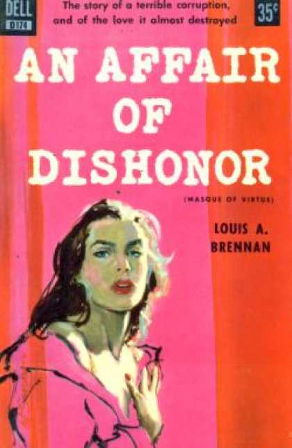 Dell Books - An Affair of Dishonor - Louis a Brennan