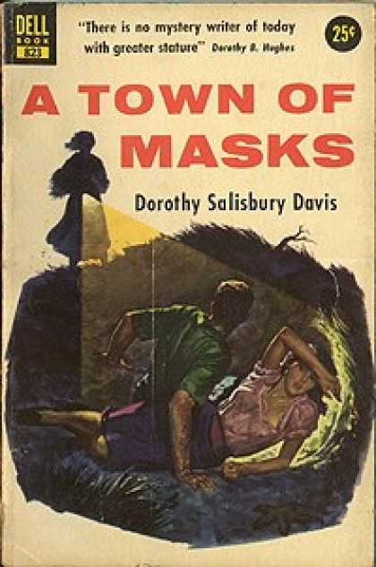 Dell Books - A Town of Masks - Dorothy Salisbury Davis