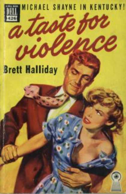 Dell Books - A Taste for Violence - Brett Halliday