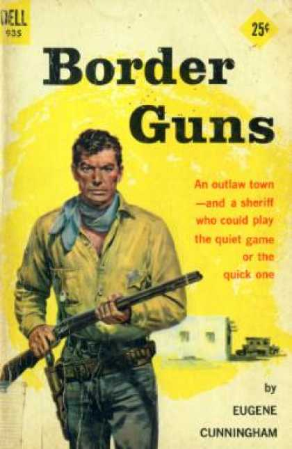 Dell Books - Border Guns - Eugene Cunningham