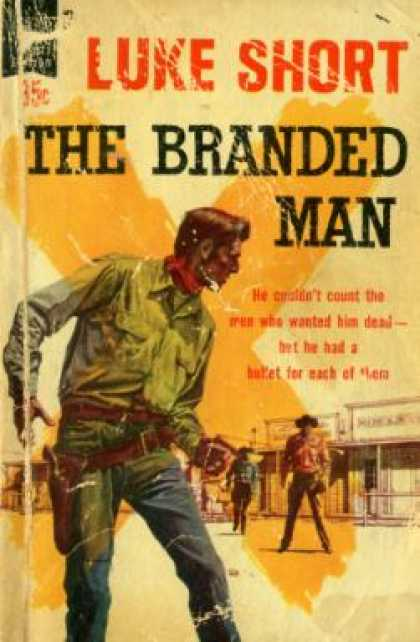 Dell Books - The Branded Man - Luke Short