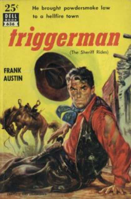 Dell Books - Triggerman (dell Books 25 Cent Series) - Frank Austin