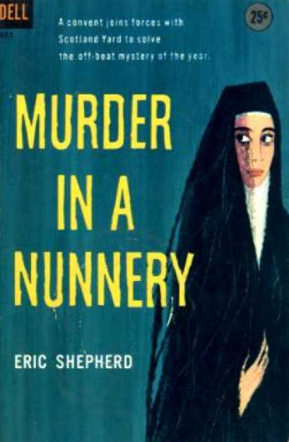 Dell Books - Murder In a Nunnery - Eric Shepherd