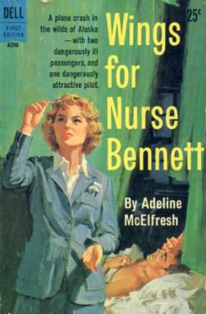 Dell Books - Wings for Nurse Bennett - Adeline Mcelfresh