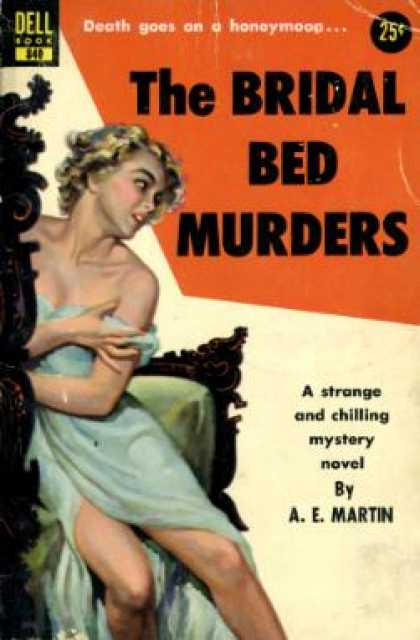 Dell Books - The bridal bed murders - A. E. Martin