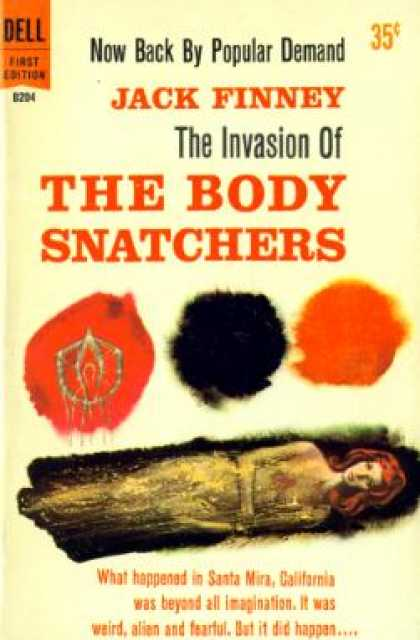Dell Books - The Body Snatchers - Jack Finney