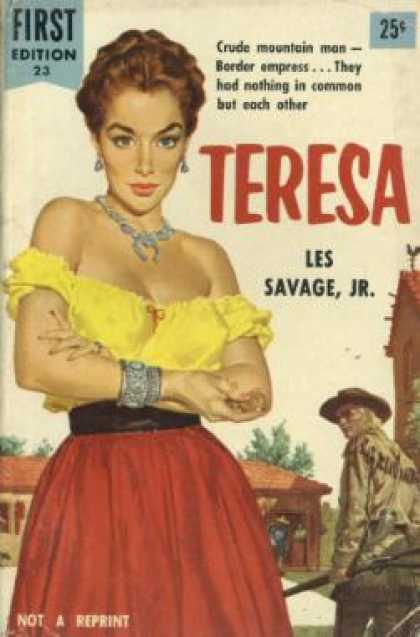 Dell Books - Teresa - Les Savage Jr.