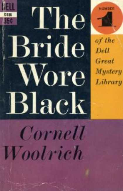 Dell Books - The Bride Wore Black - Cornell Woolrich