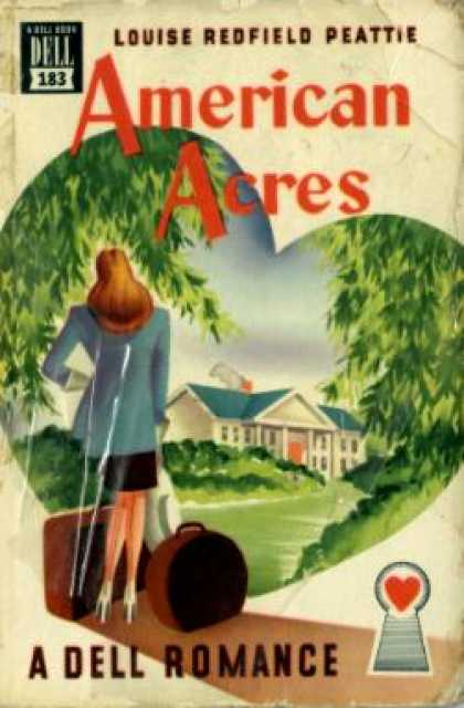 Dell Books - American Acres - Louise Redfield Peattie