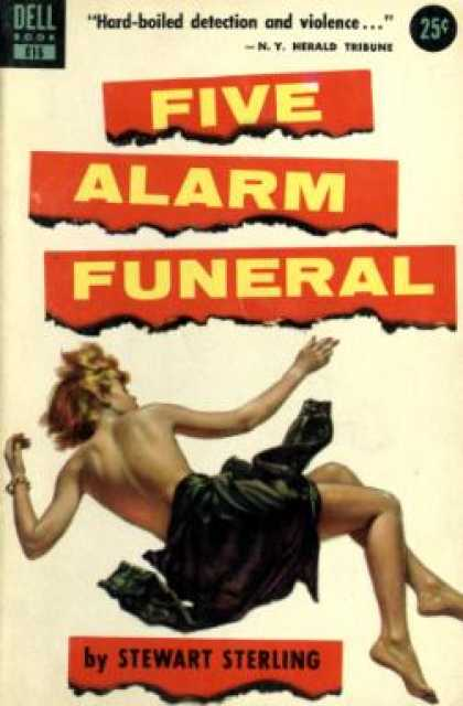 Dell Books - Five Alarm Funeral - Stewart Sterling