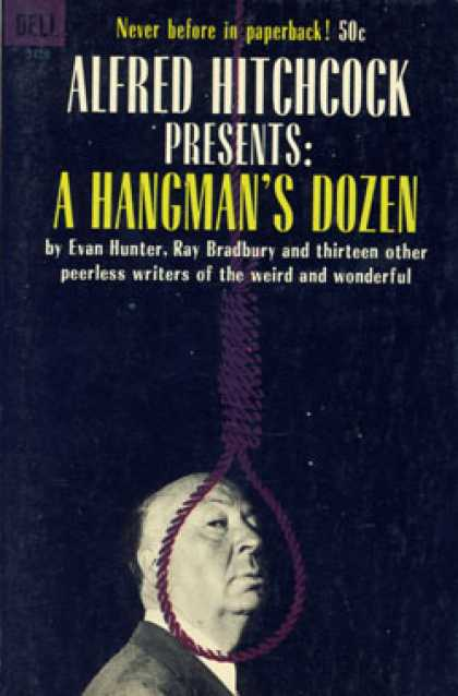 Dell Books - Alfred Hitchcock Presents: A Hangman's Dozen - Alfred Hitchcock