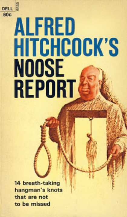 Dell Books - Alfred Hitchcock's Noose Report - Alfred Hitchcock