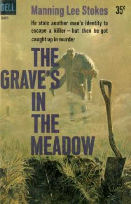 Dell Books - The Grave's in the Meadow