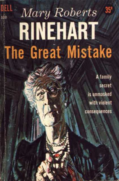 Dell Books - The Great Mistake - Mary Roberts Rinehart
