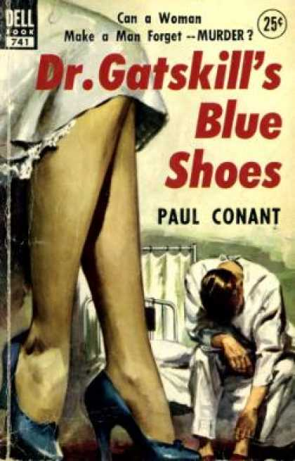 Dell Books - Dr. Gatskill's Blue Shoes - Paul Conant