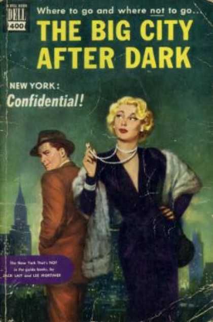 Dell Books - Big City After Dark - Jack Lait