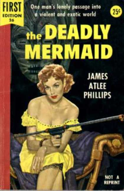 Dell Books - The Deadly Mermaid - James Atlee Phillips