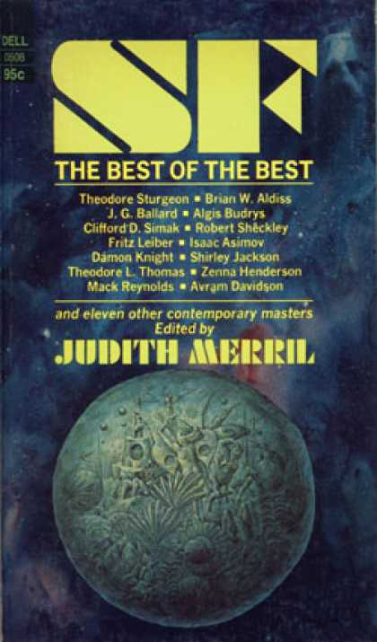 Dell Books - Sf; the Best of the Best - Judith Merril