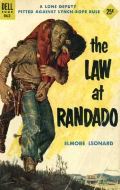 Dell Books - The Law at Randado - Elmore Leonard