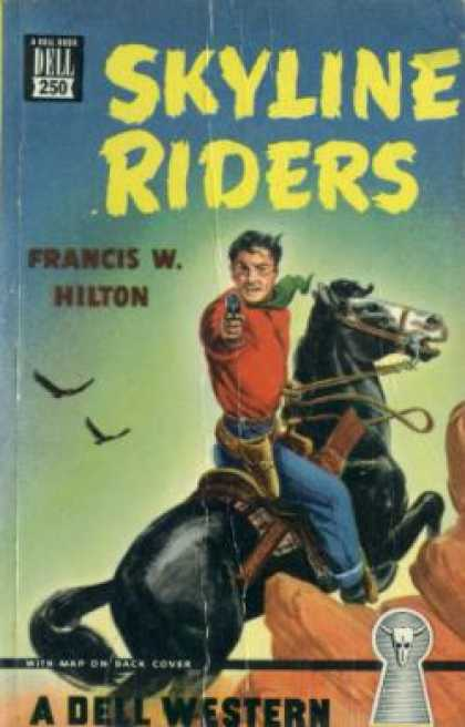 Dell Books - Skyline Riders - Francis W. Hilton