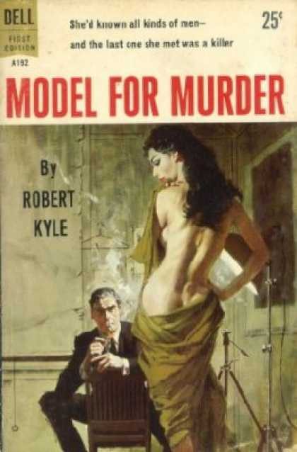 Dell Books - Model for Murder - Robert Kyle