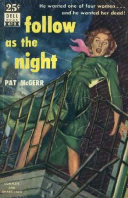 Dell Books - Follow As the Night - Patricia Mcgerr
