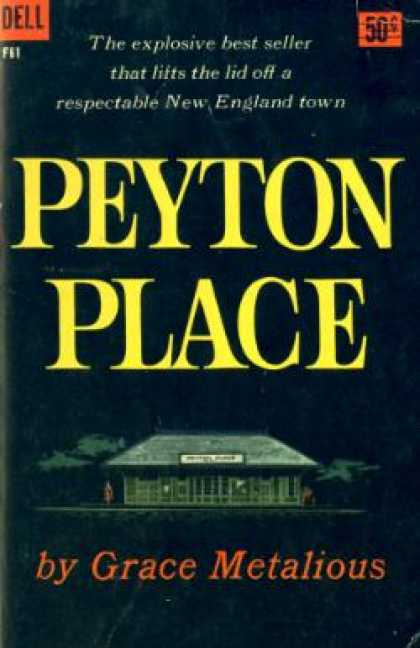 Dell Books - Peyton Place - Grace Metalious