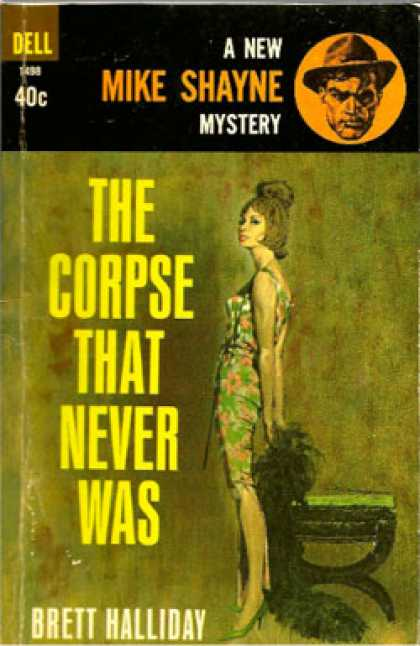 Dell Books - The Corpse That Never Was - Brett Halliday