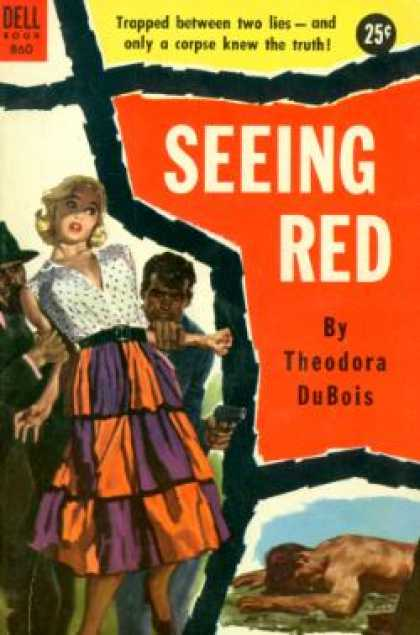 Dell Books - Seeing Red - Theodora DuBois