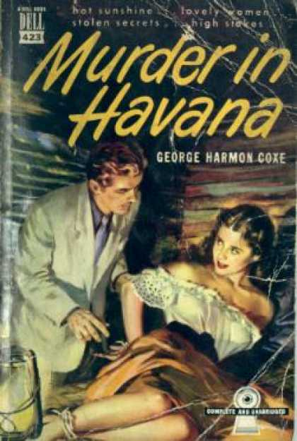 Dell Books - Murder In Havana - George Harmon Coxe