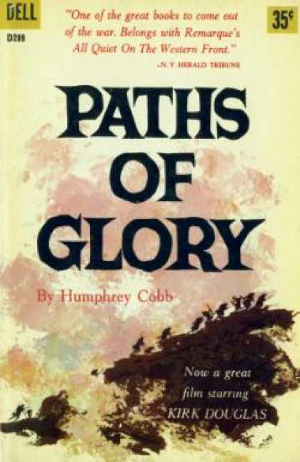 Dell Books - Paths of Glory - Humphrey Cobb
