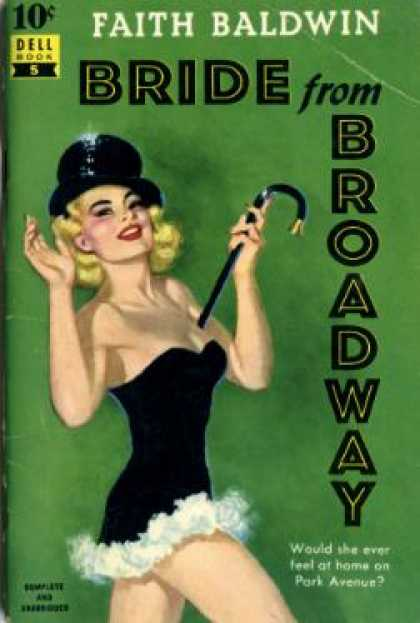 Dell Books - Bride From Broadway - Faith Baldwin