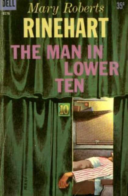 Dell Books - The Man In Lower Ten - Mary Roberts Rinehart