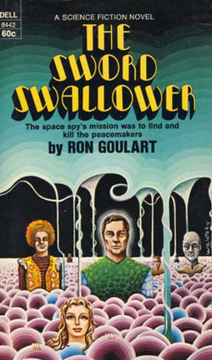 Dell Books - The Sword Swallower - Ron Goulart