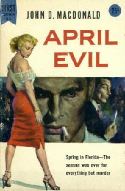 Dell Books - April Evil - John D Macdonald