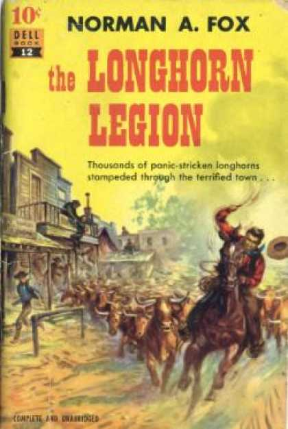 Dell Books - The Longhorn Legion - Norman A. Fox