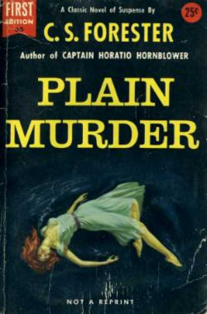 Dell Books - Plain Murder