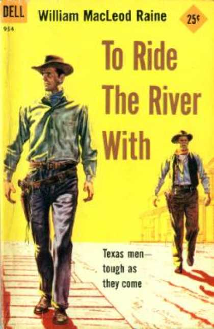 Dell Books - To Ride the River With - William Macleod Raine