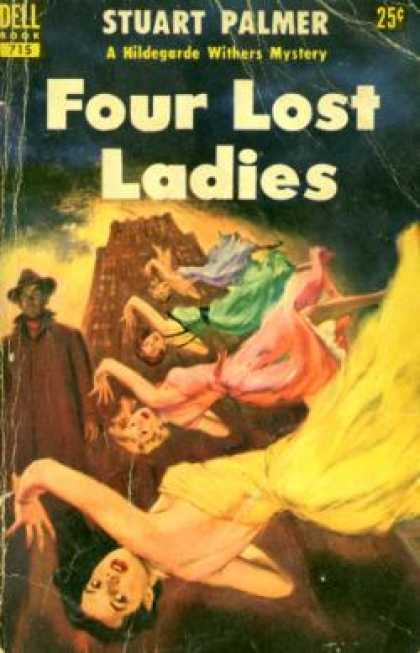 Dell Books - Four Lost Ladies - Stuart Palmer