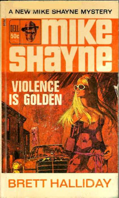 Dell Books - Violence Is Golden - Brett Halliday