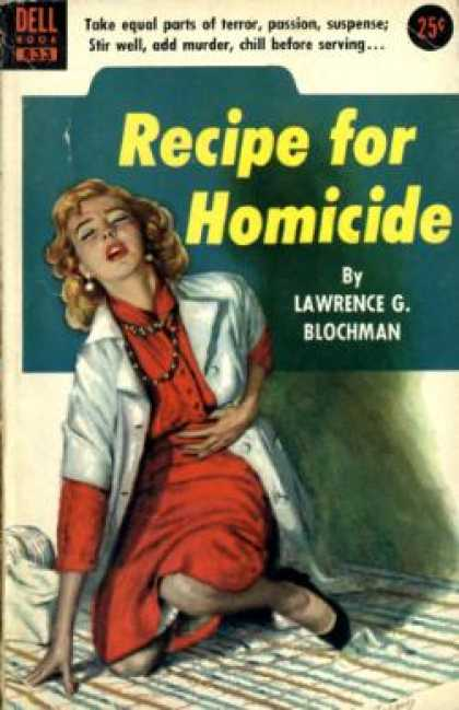 Dell Books - Recipe for Homicide - Lawrence G. Blochman