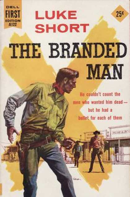 Dell Books - Branded Man, the - Luke Short