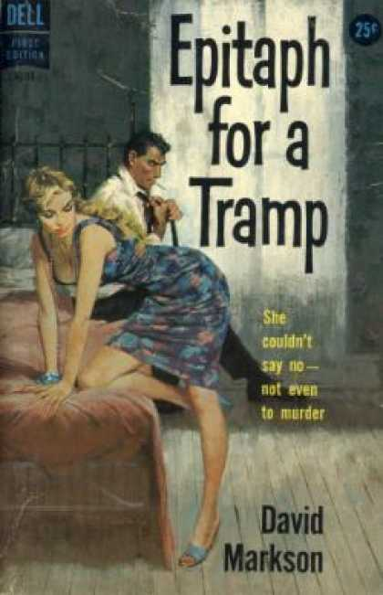 Dell Books - Epitaph for a Tramp - David Markson