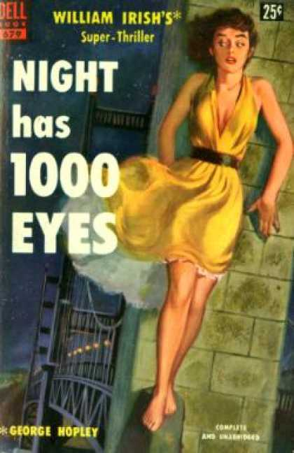 Dell Books - Night Has 1000 Eyes - William Irish